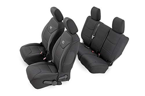 Rough Country 91002a Black Neoprene Seat Cover Front Rear For 08 10 Jeep Wrangler Unlimited Jk Https Aut Neoprene Seat Covers Jeep Seat Covers Jeep Seats