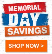 memorial day home depot sales
