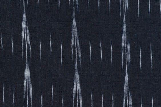 Ikat Fabric Hand Woven fabric Home Spun Indian Ikat by PaislyPrint