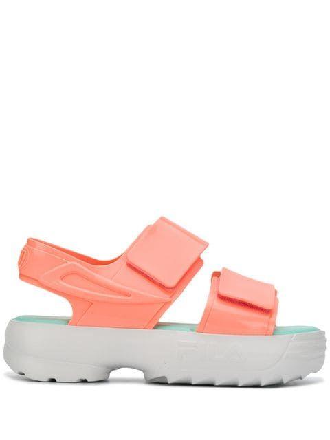 Comprar Fila sandalias con tiras cruzadas (con imágenes