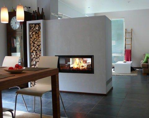 architekturkamin design kamin fireplaces pinterest. Black Bedroom Furniture Sets. Home Design Ideas
