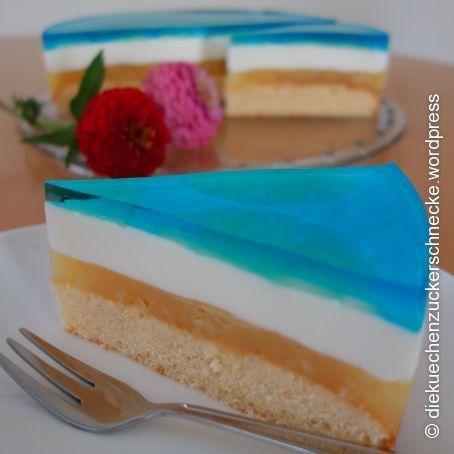 Blue Hawaii Torte