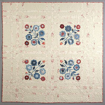 From the new book American Summer by Laurie Simpson of Minick & Simpson.  I LOVE this quilt ~ perfection.  :)