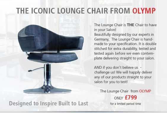 The Iconic Lounge Chair from OLYMP ONLY £799 for limited period only. Call 07970 188134 or 0208 487 5874