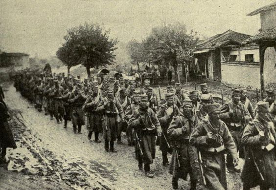 The Balkan Front was a 900-mile front that stretched from the Isonzo River valley in northeast Italy to the Romanian Black Sea coast. The front consisted of a series of largely separate campaigns.