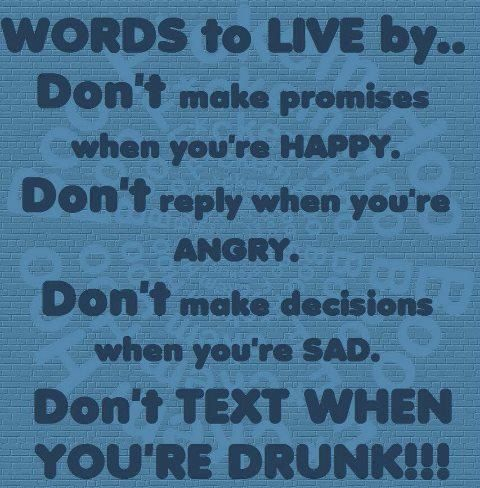 Love the last one... it's worse than waking up thinking of Coyote ugly!