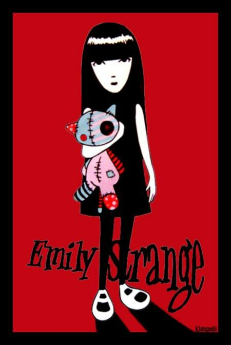 {Emily The Strange} Emily the Strange by Rob Reger #EmilytheStrange #comic #Reger #illustration #art