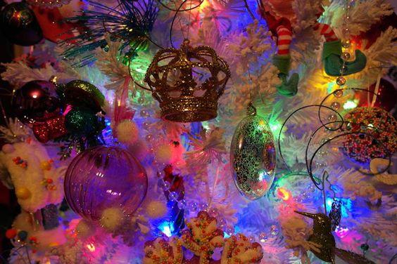 A very colourful Christmas for  Amy Kuczewski