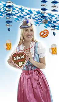 Party Deko Oktoberfest Bayern