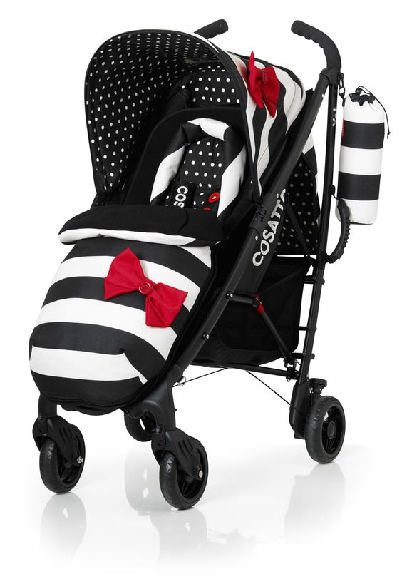 This is by far the cutest stroller I have ever seen! Cosatto Yo ... I Love Moo Cow
