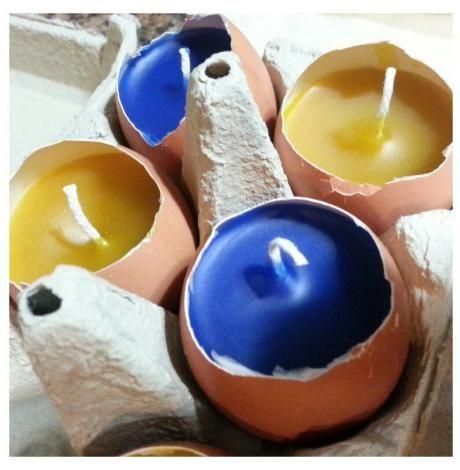 Set de velas - Ovos para a Páscoa | Artemix