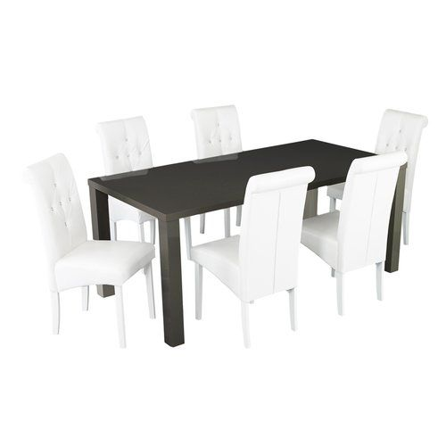 Canora Grey Alidge Dining Set With 6 Of Chairs Dining Table Dining Room Sets Oak Dining Sets