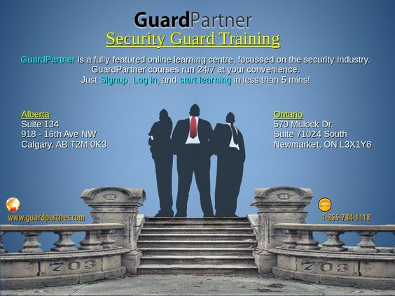 Security Officer Training Online Security Guard Training Pinterest - guardian security guard sample resume