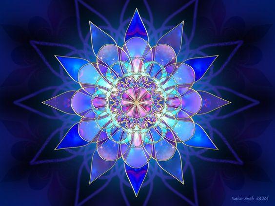 mandala ajuda a trazer energias positivas.