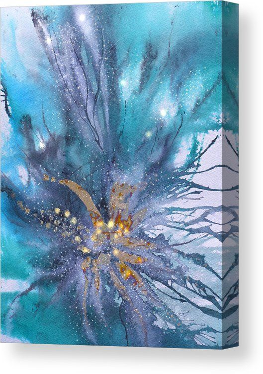 Deep Ocean Waterworld Canvas Print Canvas Art By Sabina Von Arx