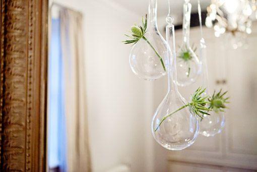 Hanging Tear Drop vases