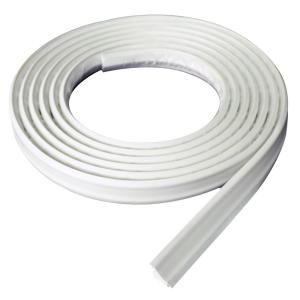 Instatrim 3 4 In X 1 2 In X 120 In White Pvc Inside Corner Self Adhesive Flexible Trim Moulding It75inwht The Home Depot Moldings And Trim Flexible Molding Door Molding