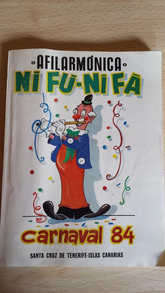 Vendo cancionero de la Nifú Nifá del año 84. Carnaval de Santa Cruz de Tenerife. Cómpralo aquí: http://www.todocoleccion.net/coleccionismo-revistas-periodicos/cancionero-murga-nifu-nifa-ano-84-carnaval-santa-cruz-tenerife~x46730272