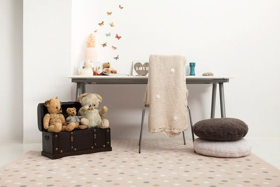Lorena Canals Teppich Dots 140x200cm ➤ Jetzt online kaufen   kindertraum.ch