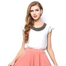 Resultado de imagem para blusa estilo camisa