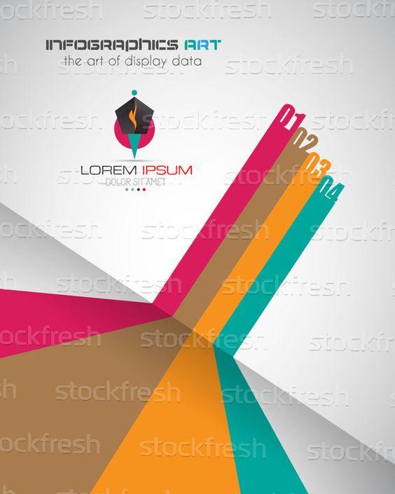 信息圖表 · 設計模板 · 現代 · 風格 · 顯示 · 數據 - 插圖 © David Sandonato (DavidArts) (#4147092) | Stockfresh