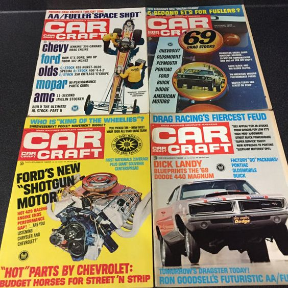 Car Craft Magazine 1968