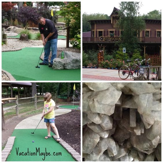 Mini Weekend Vacations: Maze, Minis And Caves