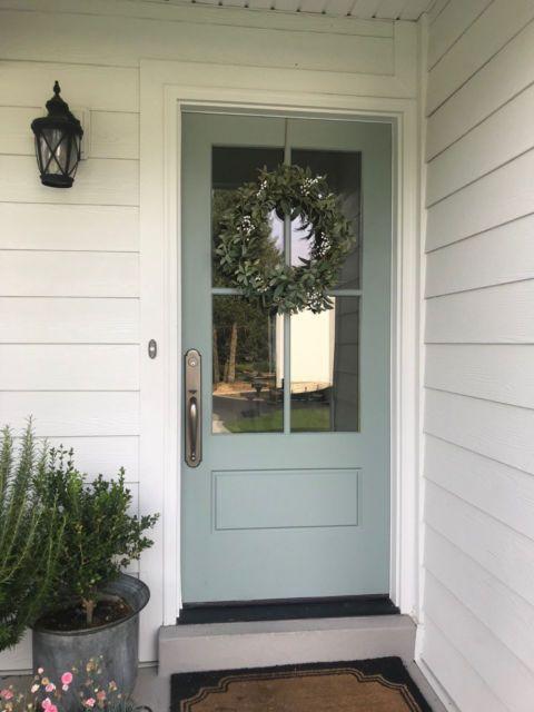 On Sale 3068 Fiberglass Cottage Style 4 Lite Entry Door Cottage Front Doors Cottage Style Front Doors Exterior Doors