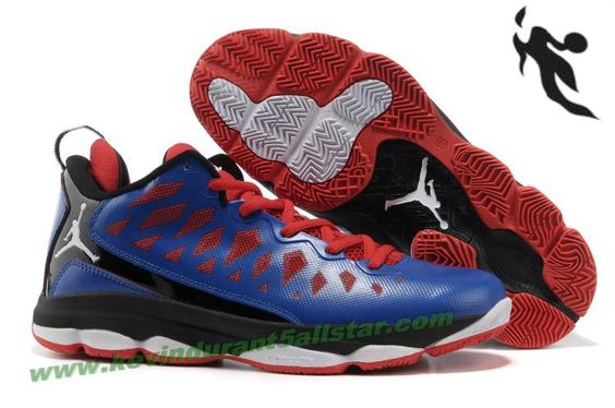 Jordan CP3 VI Chris Paul 2013 Shoes Blue Red Black