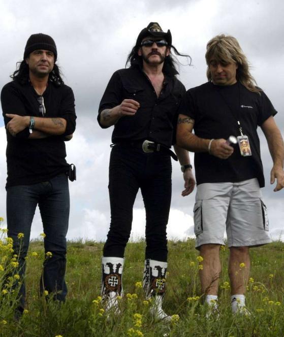 Larry Wallis, Lemmy Kilmister und Mikkey Dee