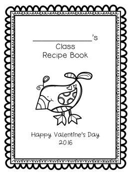 Valentine's Day Cookbook - unique present idea!