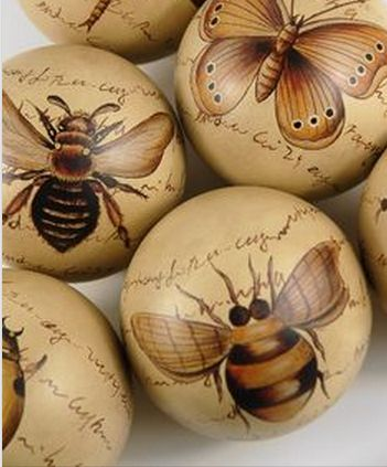≗ The Bee's Reverie ≗ porcelain bee & insect balls
