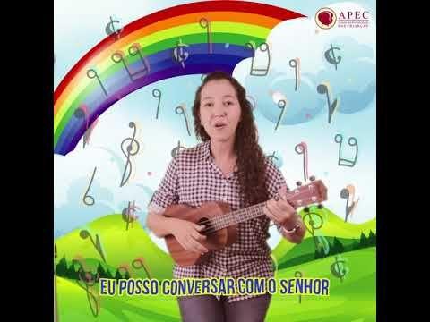 Converso Com Jesus Canticos Para Criancas Apec Youtube