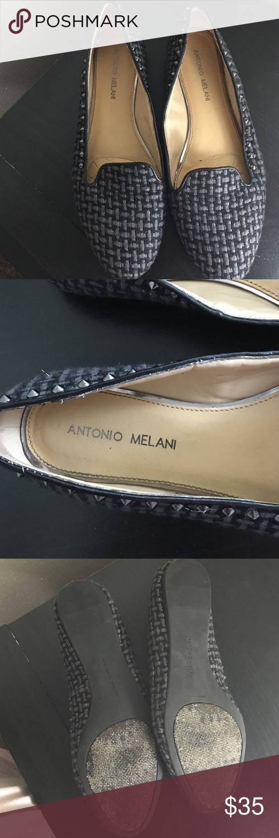 Antonio Melanie flats [ no box] Used 4 times ANTONIO MELANI Shoes Wedges