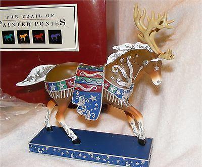 Trail of Painted Ponies Reindeer Roundup Pony