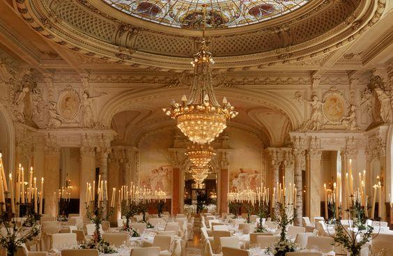 Hôtel Beau-Rivage Palace Lausanne-Salles de bal Sandoz et Rotonde