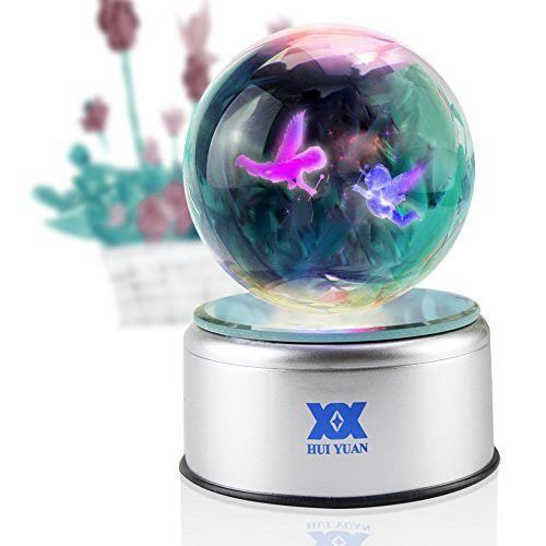 Angel Figurines Thank You Gifts Christmas Gift Children Birthday 3d Crystal Ball Lamp For Her Led Night Lig Christmas Gifts For Kids Kids Gifts Thank You Gifts