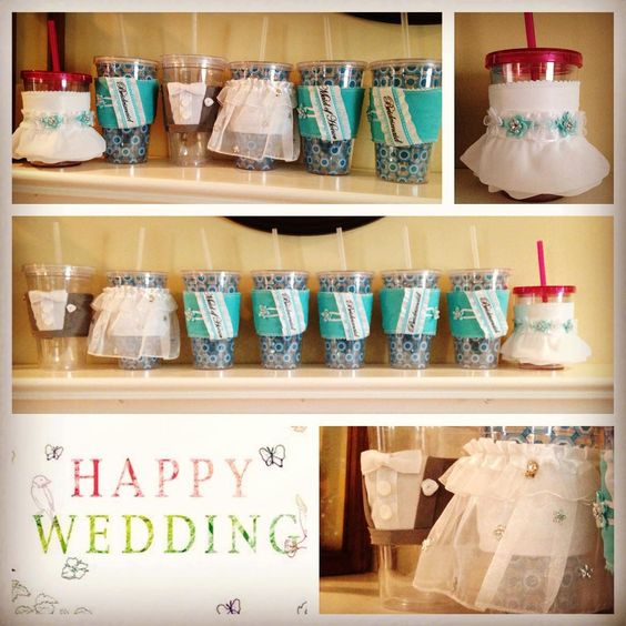 Happy #wedding #day to @keriannlynch!! #beautiful #bride #mybestfriend #jennsjavajackets #bridesmaidblue #ungerpartyof2 #flowergirl #brideandgroom #customized #bridalparty #runsondunkins #love