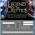 Download free online Game Hack Cheats Tool Facebook Or Mobile Games key or generator for programs all for free download just get on the Mirror links,Legend of the Cryptids Hack Tool Get your free 100% working Legend of the Cryptids Hack using exploits which features unlimited gems hack, ...