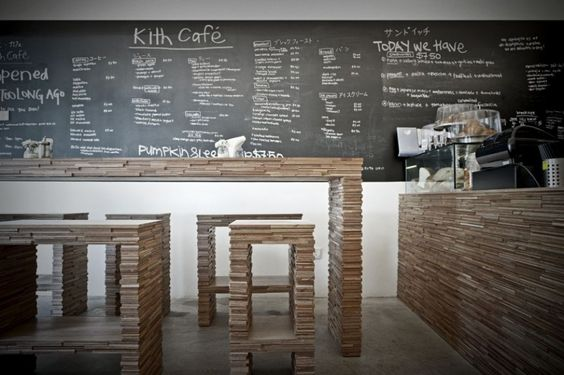 Chalkboard wall menu repurpose old classroom chalkboards - Tableau ardoise deco cuisine ...