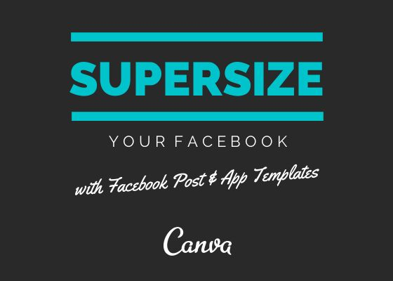 Canva Listens to their user's requests with awesome new covers and templates for facebook users! #facebook