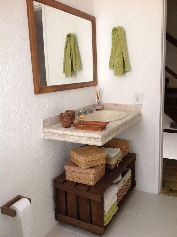 Reciclando banheiro antigo