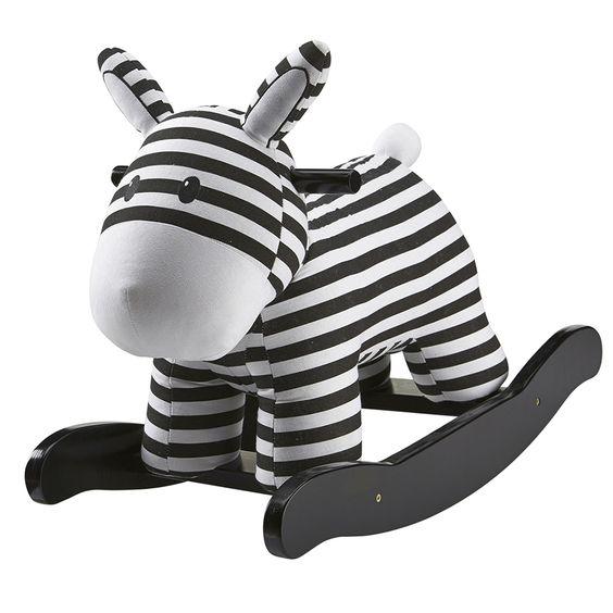 Kids Concept Holzspielzeug Schaukeltier Streifen schwarz/weiß 50cm - im Fantasyroom Shop online bestellen oder im Ladengeschäft in Lörrach kaufen. Besuchen Sie uns!