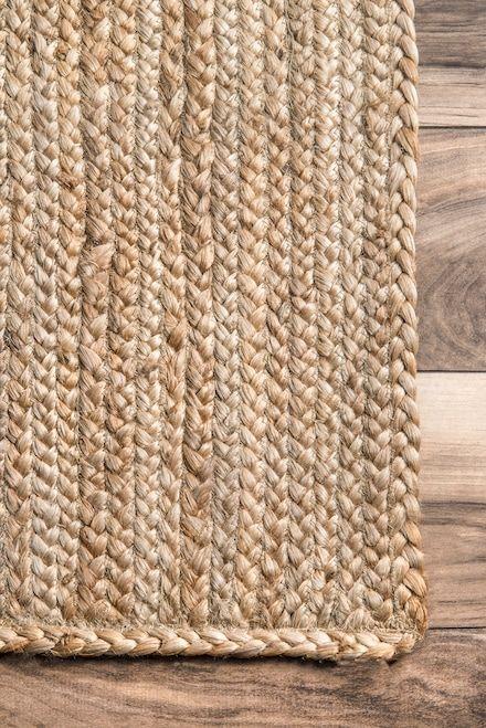 Maui Jute Braided Natural Rug