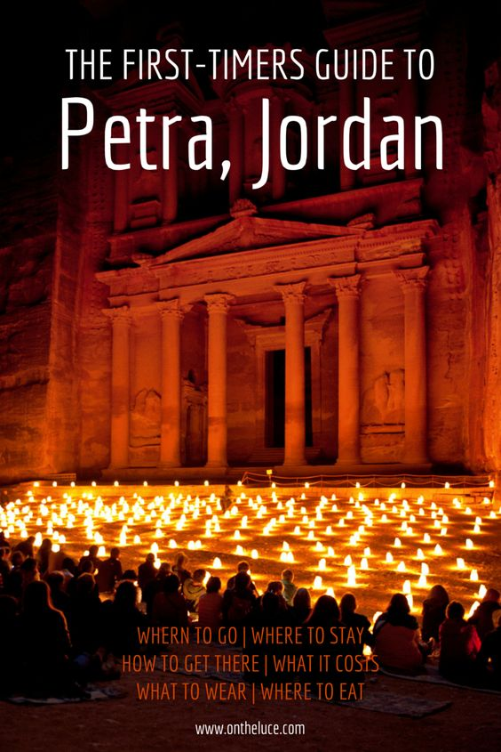 A first-timers guide to visiting the temples at Petra in Jordan