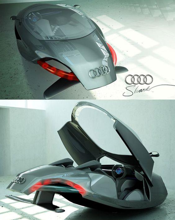 """Audi """"Shark""""."""