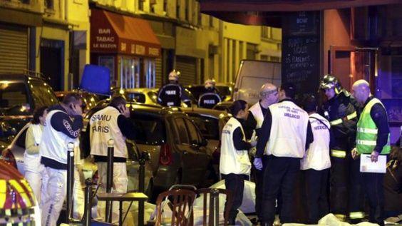 """Hollande anuncia guerra """"despiadada"""" contra el terrorismo, desde el teatro Bataclan - RCN La Radio"""