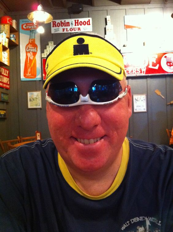 The new way to wear sunglasses! All the kids are all wearing them like that today...okay, maybe not.