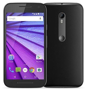 """Smartphone Motorola Moto G 3ª Geração Dual Chip Desbloqueado Android 5.1 Tela HD 5"""" Memória Interna 8GB 4G Câmera 13MP Processador Quad Core 1.4GHz - Preto"""
