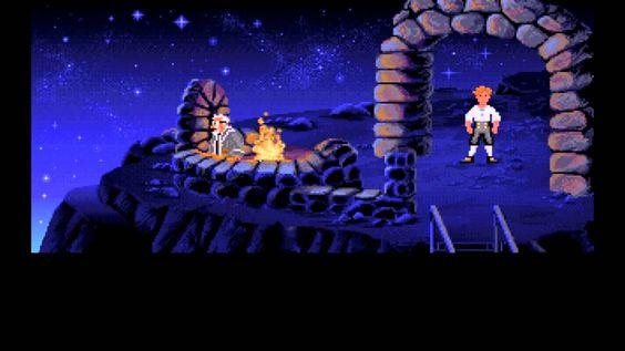 The Secret of Monkey Island PC 1990 Gameplay